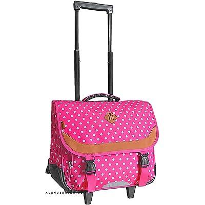 grande vente a5b60 ca1b1 Cartable sac à dos à roulettes Rose CM1 CM2 Collège pour ...