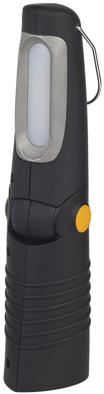 Brennenstuhl LED Taschenlampe mit Akku / Handleuchte Akku mit Schalter und Magnet zum flexiblen Einsatz (8 SMD LEDs + 5 CREE LED) Farbe: schwarz