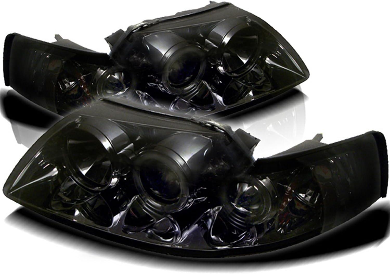 Spyder Auto PRO-YD-FM99-1PC-AM-SMC Smoke Halo Projection Headlight