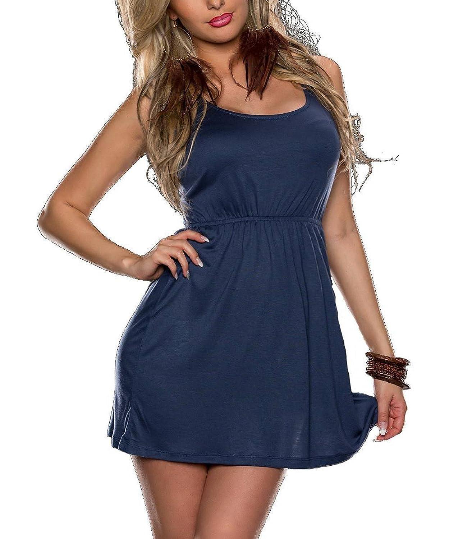 Minikleid aus Baumwolle für den Winter kaufen, Braun, Beige, Blau