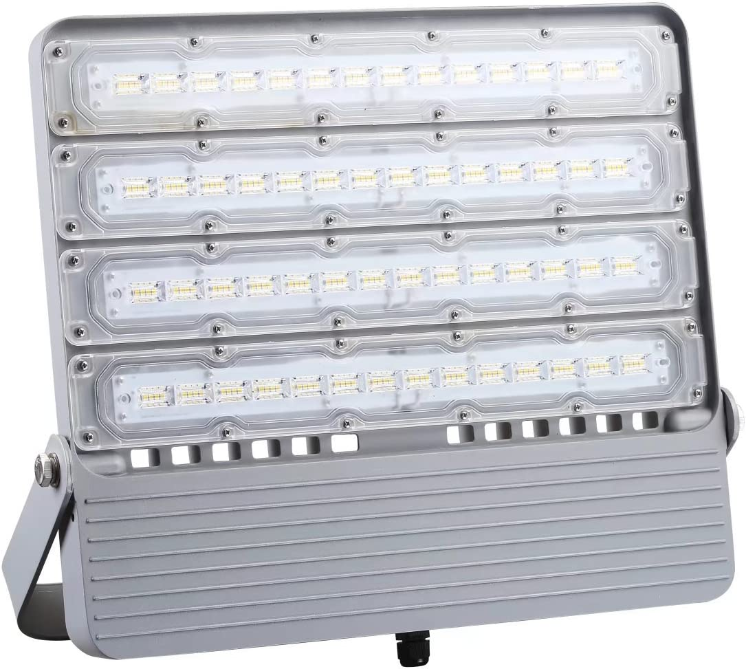 JME LED Stadium Floodlights 200W,Ultra Bright Flood Light, Waterproof IP65 1500W Equiv. 23000lm 5000K Daylight,Outdoor Commercial Light Fixture for Arena Courts Shoebox