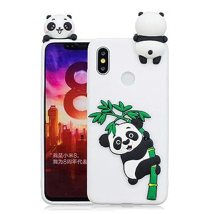 Amazon.com: Xiaomi Mi 8 DAMONDY - Carcasa de silicona para ...