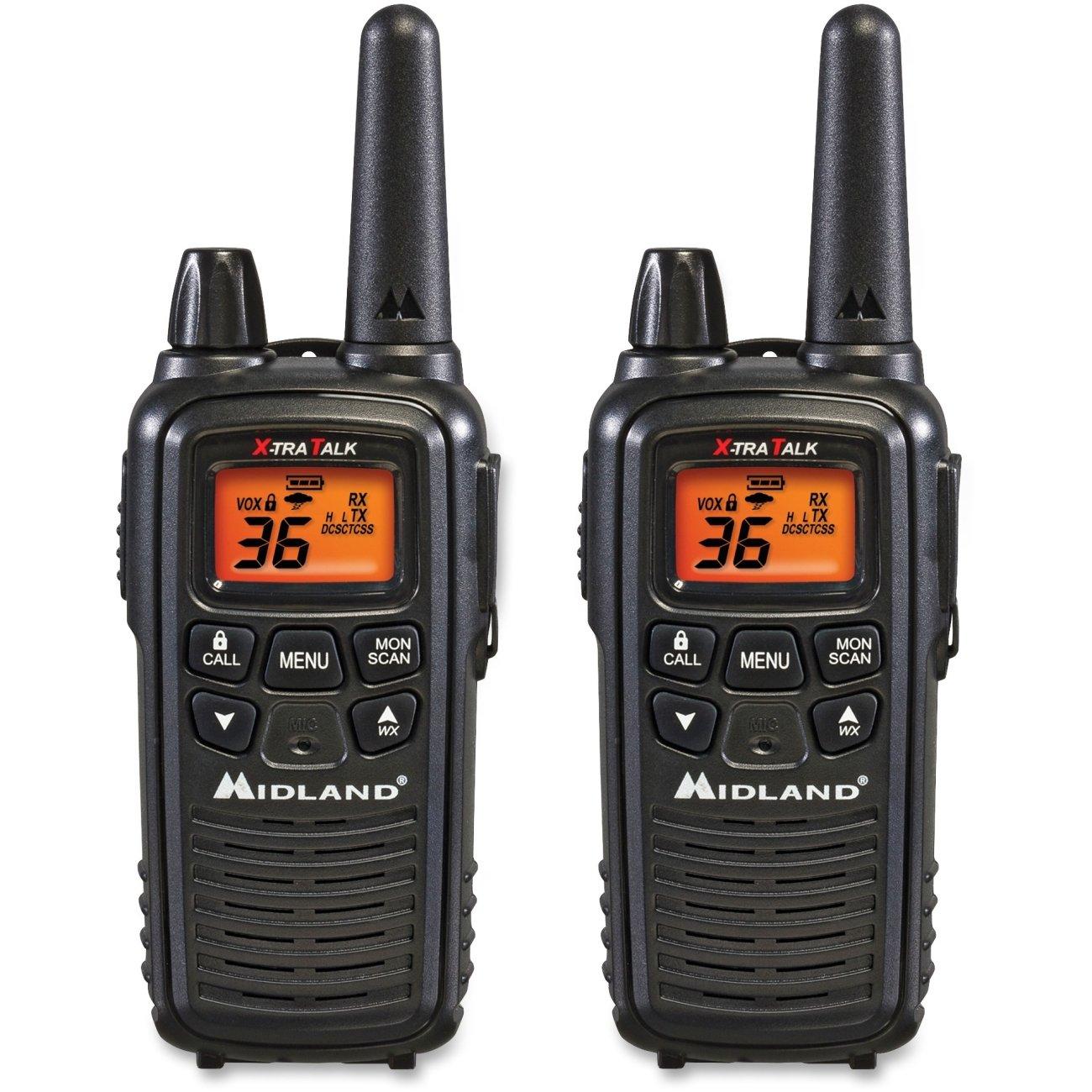 GMRS 2-WAY RADIO 30MILE (Pkg of 3)