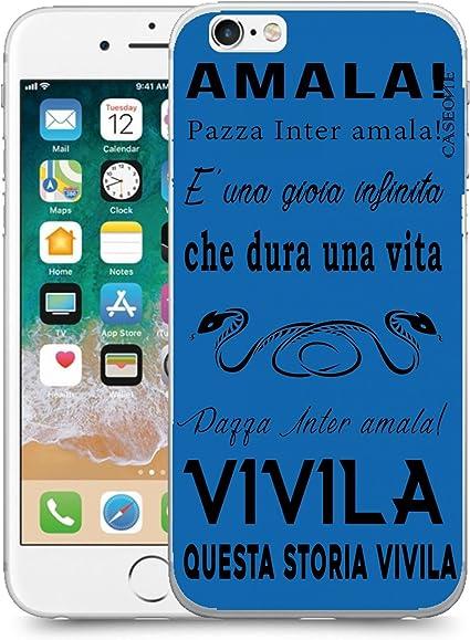 CASEONE® Cover in Gomma TPU Coro Inter per Apple iPhone 6 6s ...