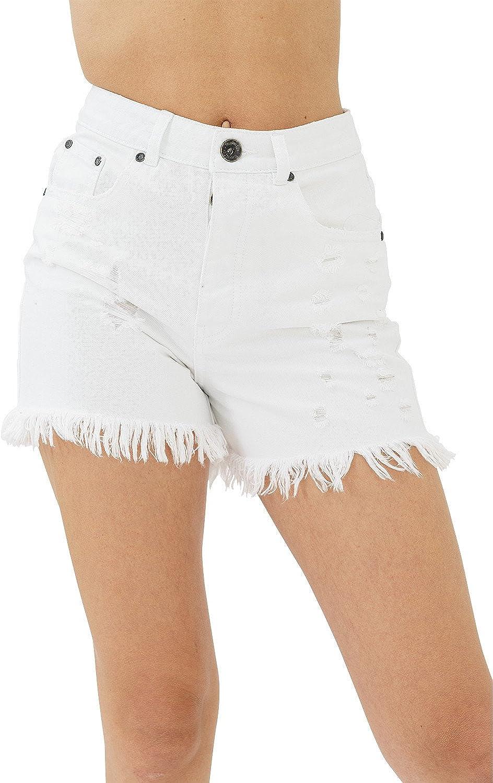 trueprodigy Casual Mujer Marca Pantalon Basico Ropa Retro Vintage Rock Vestir Moda Deportivo Slim Fit Designer Fashion Pantalones Cortos