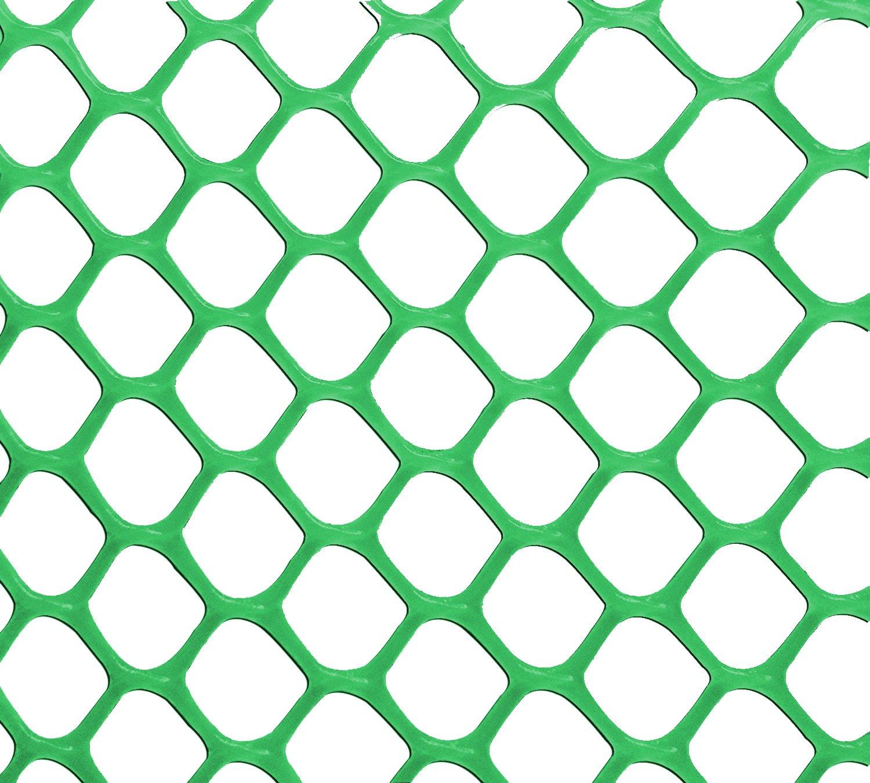 V Protek 4x20ft Plastic Poultry Fence Poultry Netting, Chicken Net Fence,Green by V Protek