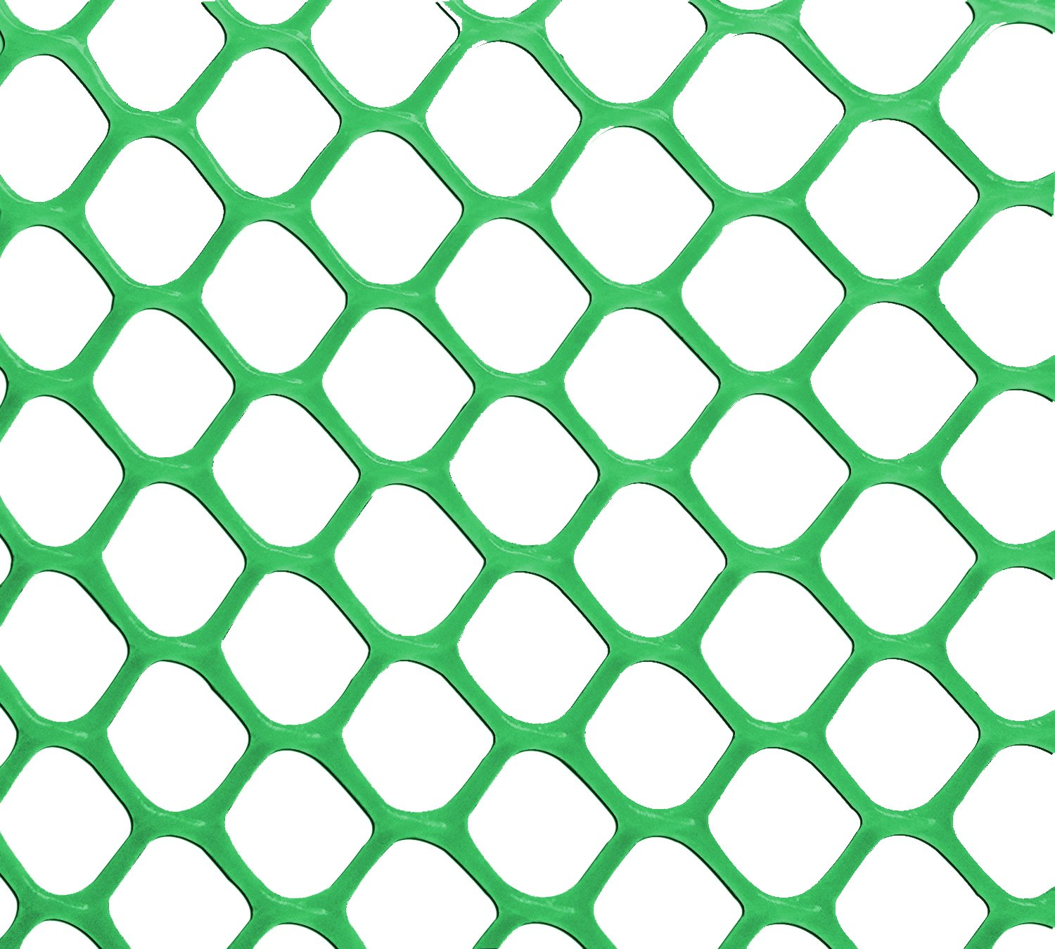 V Protek 5x50ft Plastic Poultry Fence Poultry Netting, Chicken Net Fence For Flower Plants Support,Green