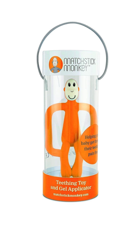 Matchstick Monkey Teething Toy Orange
