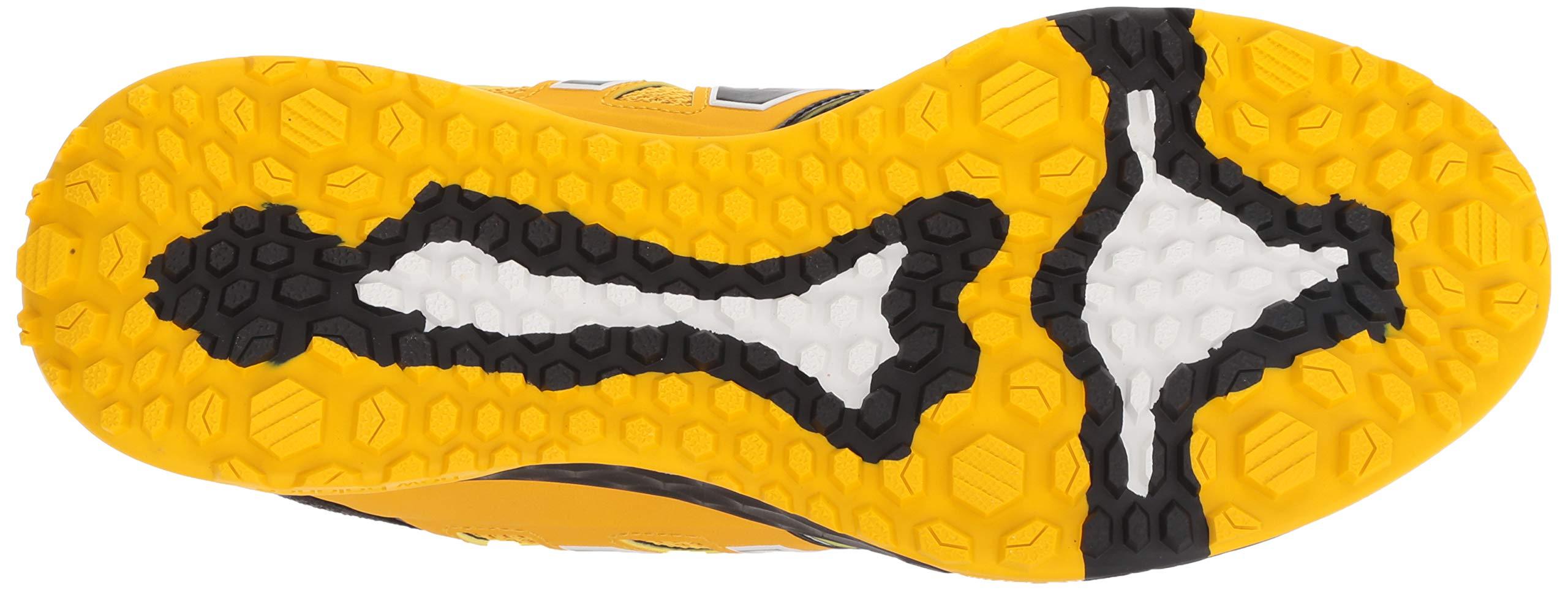 New Balance Men's 3000v4 Turf Baseball Shoe, Black/Yellow, 5 D US by New Balance (Image #3)