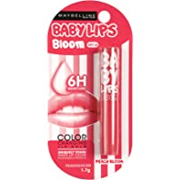 Maybelline Baby Lips Color Changing Lip Balm, Peach Bloom, 1.7g
