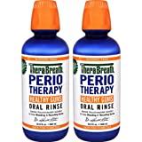 TheraBreath Dentist Formulated PerioTherapy HEALTHY GUMS Oral Rinse, 16.9 Ounce