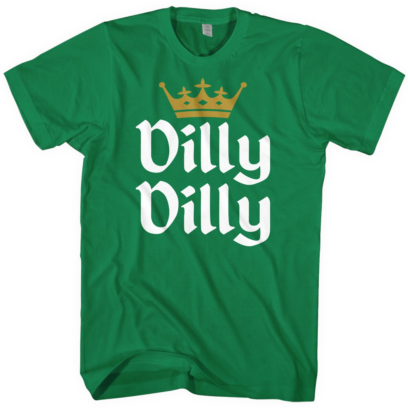 47587533631 Amazon.com  Mixtbrand Men s Dilly Dilly St. Patrick s Day   Gold Crown T- Shirt  Clothing