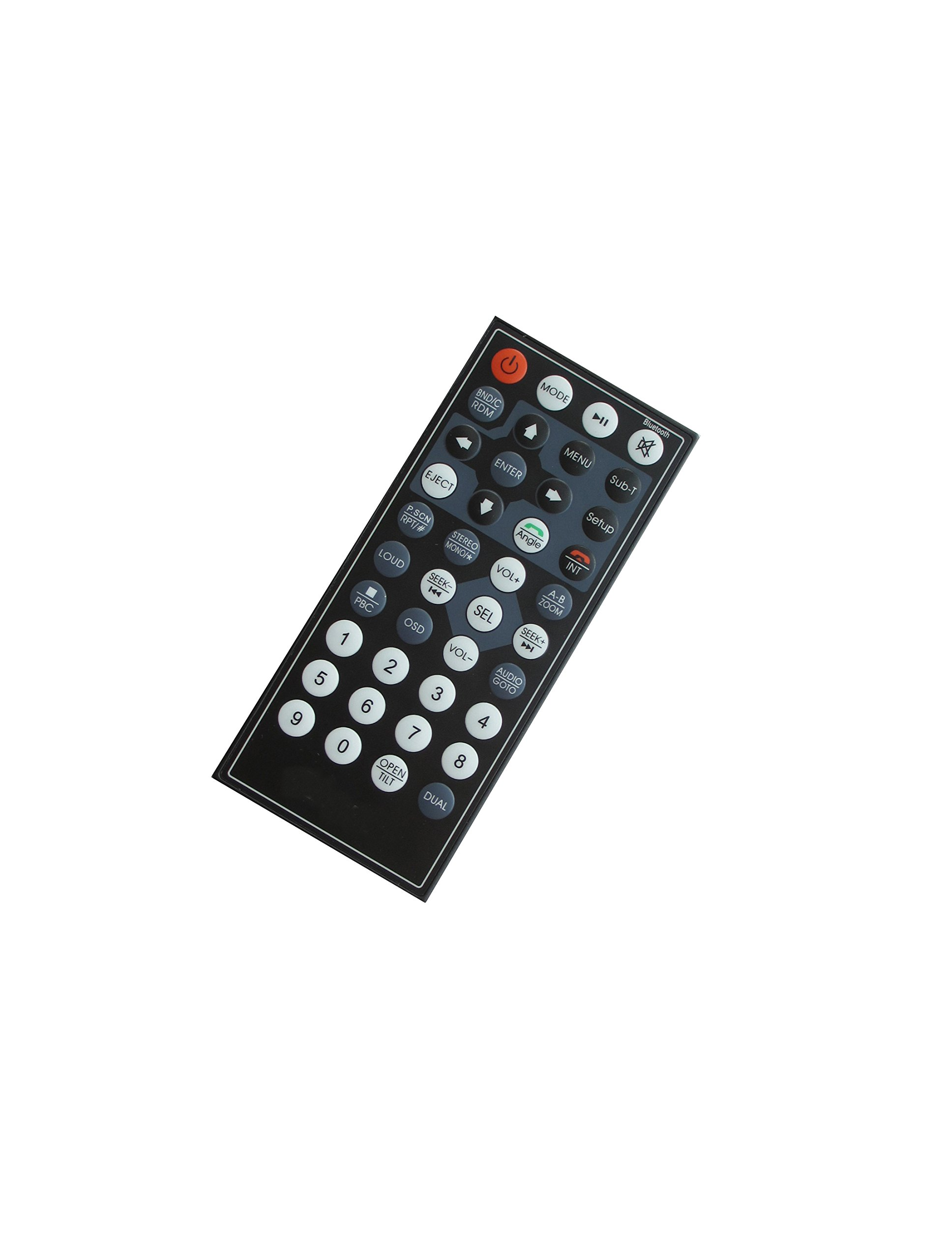 General Remote Control For Visteon FDR-340 FDR-780T FDR-654 DVD CD USB SD AM FM MP3 Player Bluetooth Car Stereo Receiver by HCDZ (Image #1)