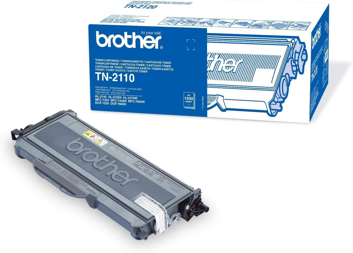 Kompatible Tonerkartusche f/ür Brother DCP-7030 DCP-7040 DCP-7045N HL-2140 HL-2150N HL-2170N HL-2170W MFC-7320 TN2120 TN-2120 XXL 5.200 Seiten Black