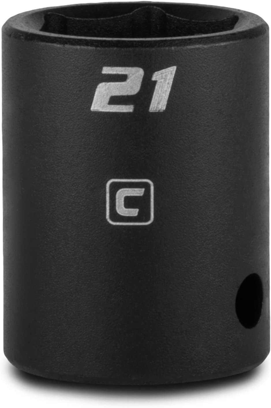 Capri Tools Shallow Impact Socket 6-Point 1//2-Inch Drive Metric 23 mm