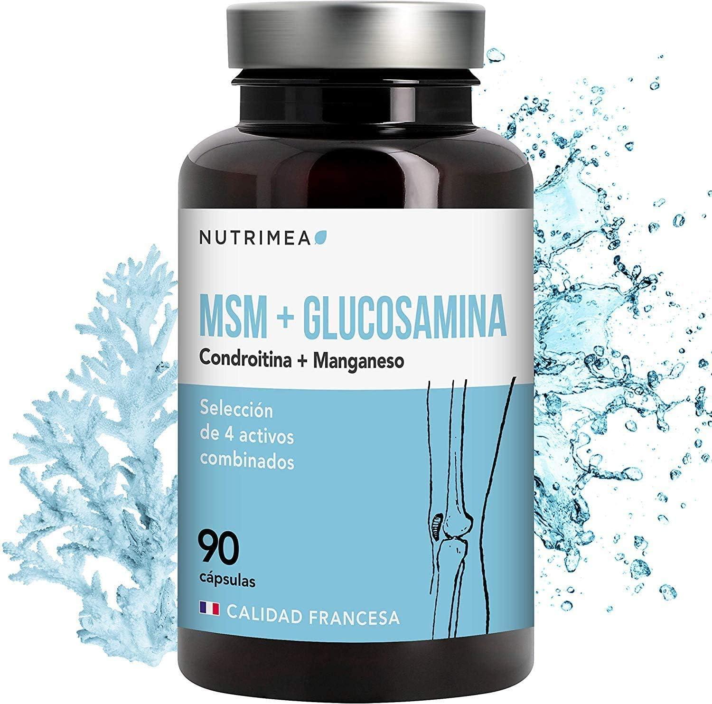 Glucosamina Complex con Condroitina MSM | Suplemento ...
