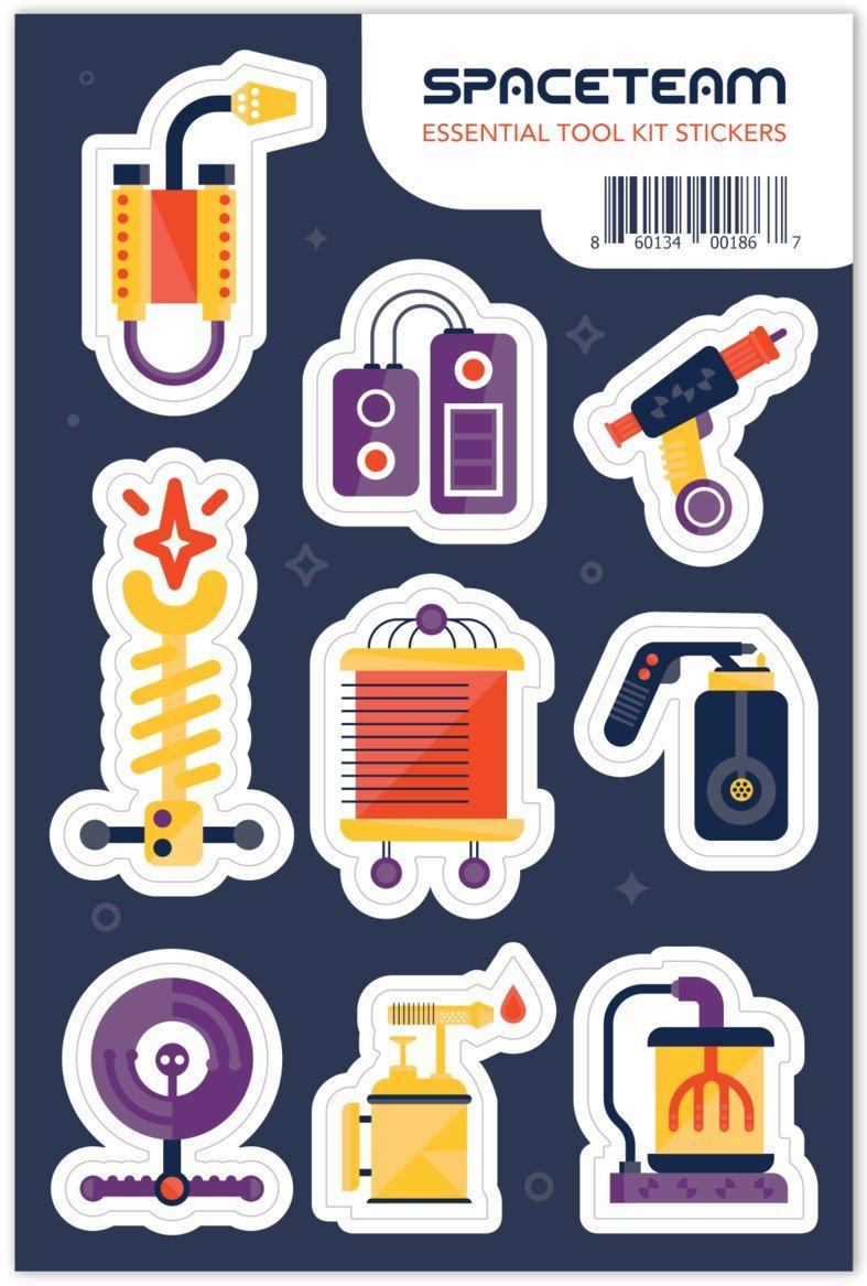 Spaceteam Essential Tool Kit Stickers
