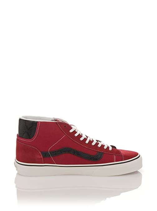c9aeb1193b626a Vans Mid Skool 77 CA California Collection Suede Rio Red  Amazon.co.uk   Shoes   Bags