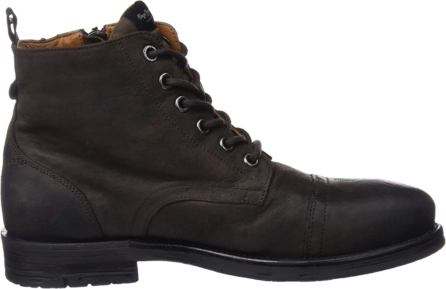 Pepe Jeans Men's Tom-Cut Med Boot Classic Brown Stag 884