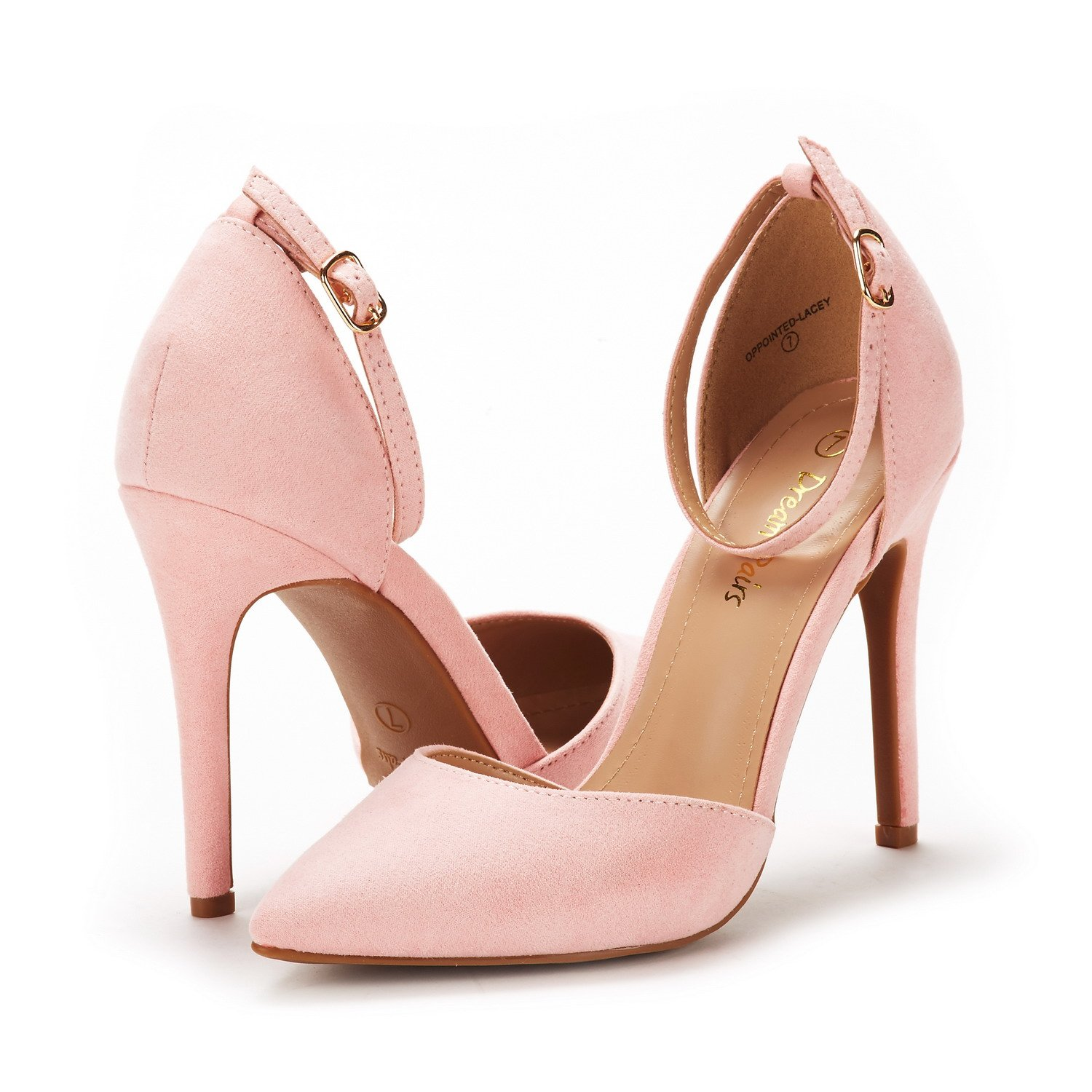 DREAM PAIRS Womens Oppointed-Lacey Pump Shoe