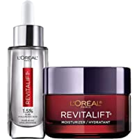 Deals on LOreal Paris Revitalift Anti-Aging Skin Care Regimen Kit