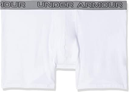 TALLA L. Under Armour Charged Cotton 6in 3pk - Ropa Interior Hombre