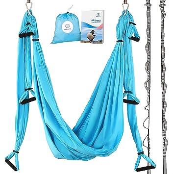 yoga swing  u2013 antigravity yoga hammock  u2013 aerial trapeze  u2013 sling  u2013 inversion tool for back amazon     yoga swing   antigravity yoga hammock   aerial      rh   amazon