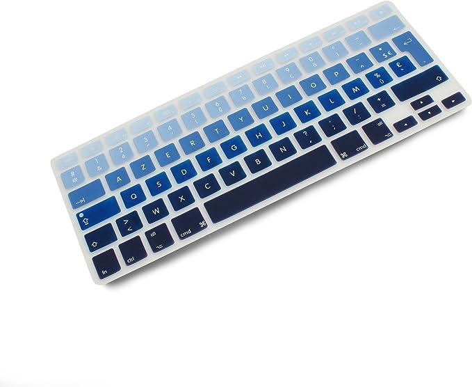 Sistema de S Silicona Protector de teclado teclado AZERTY ...