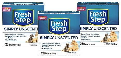 Amazon.com: Fresh Paso multi-cat, apelmazarlas Aserrín para ...