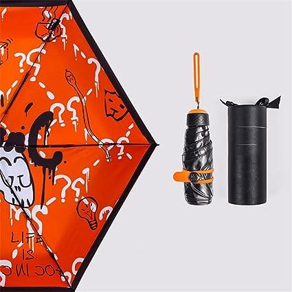 GXSCE Anti-UV, paraguas compacto, paraguas plegable, adecuado para negocios / golf