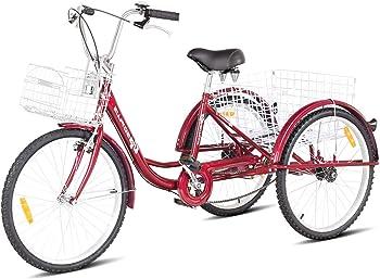 Goplus Adult Three Wheel Recumbent Bike