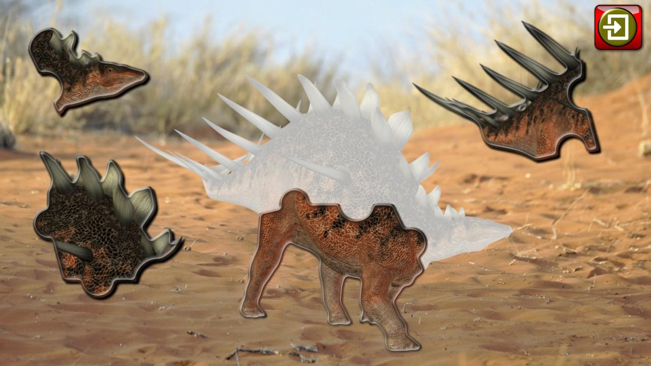 Kids Dinosaur Rex Jigsaw Puzzles Educational Shape And