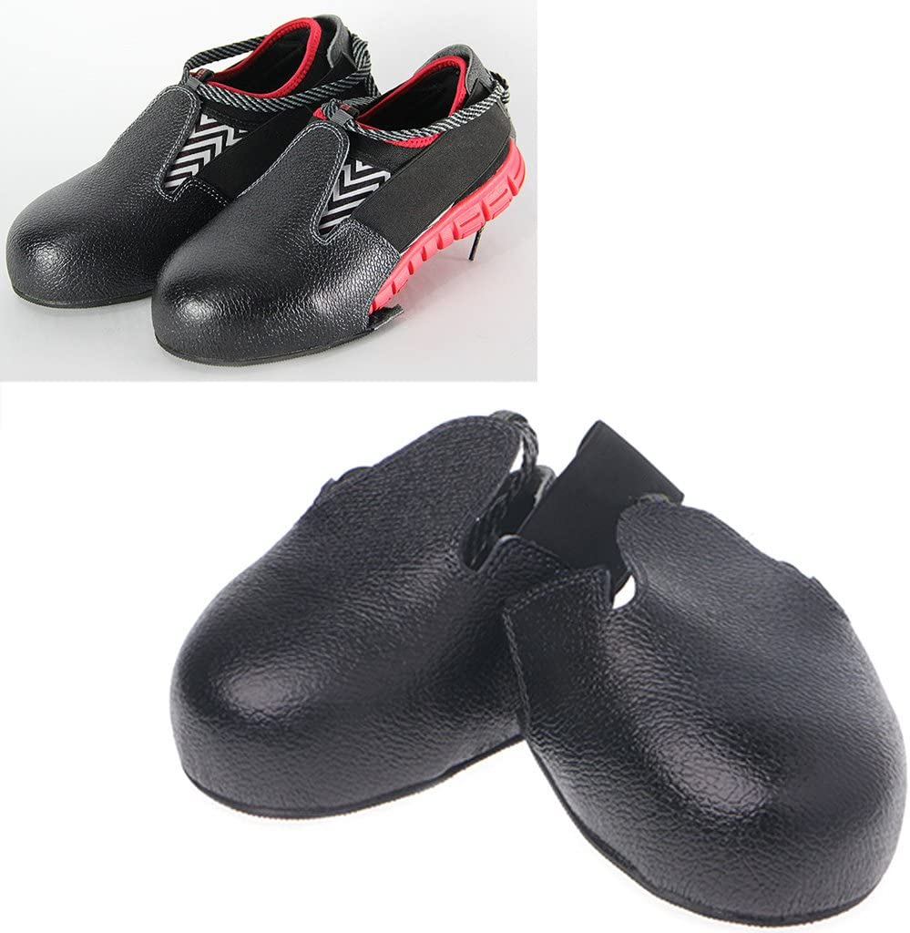 Titanium Aluminum Alloy Portable Steel Toe Cap Visitor Work Safety Shoe Covers