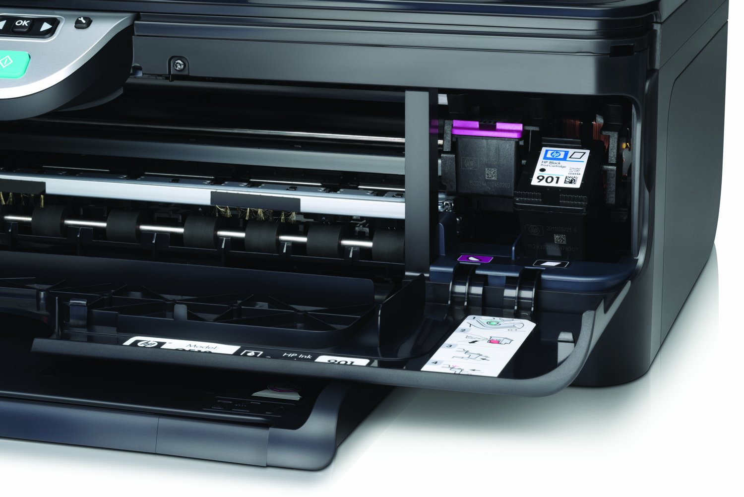 HP Officejet 4500 Wireless All-in-One Printer (Print, Scan, Copy, Fax):  Amazon.co.uk: Computers & Accessories