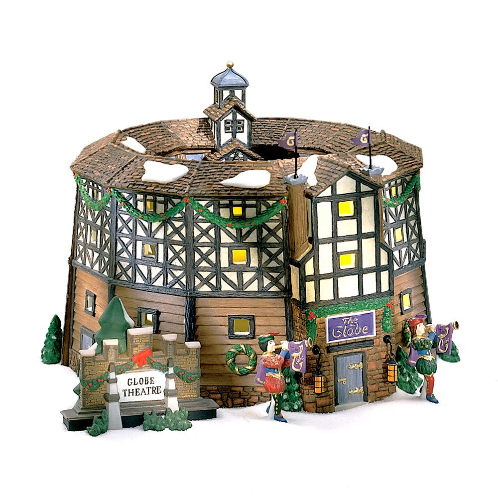 Department 56 ''The Old Globe Theatre'' Dickens Village