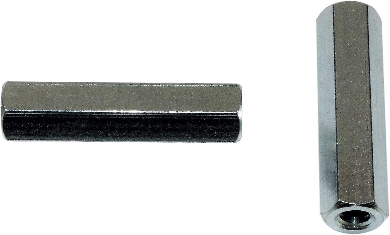 10 x 6 x 5 mm Rolle halbrund Karbonstahl MroMax T-Nut-Muttern 20 St/ück M5