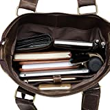Genda 2Archer Leather Office Handbag Sling Shoulder