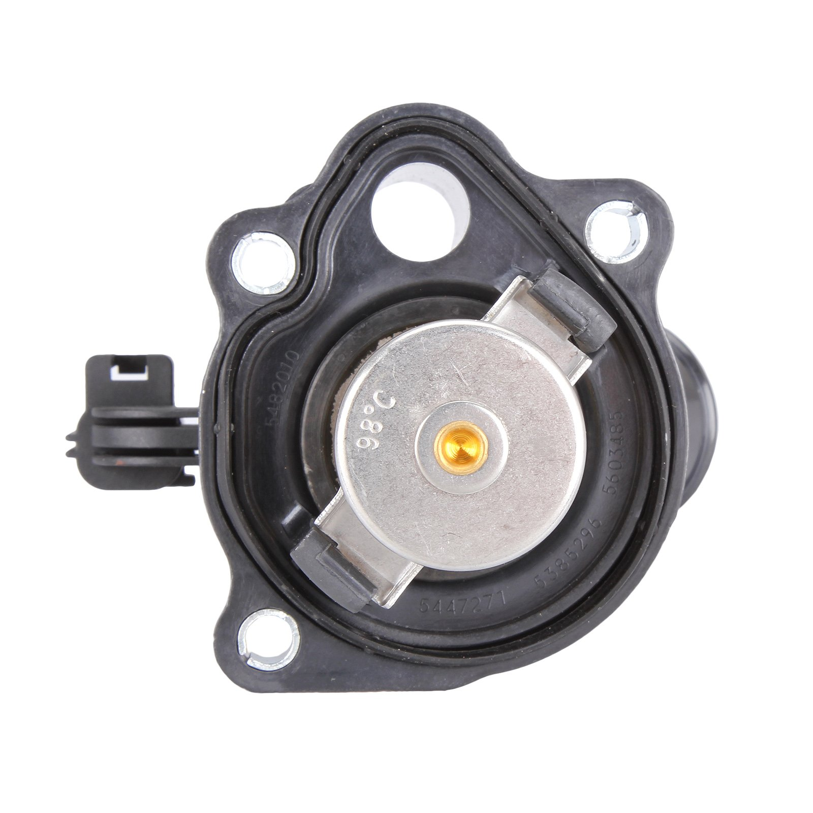 AutoHorizon Thermostat Housing Water Outlet 1S7Z8575AG For Ford Focus Ranger 2.3 2.0 2005-2011