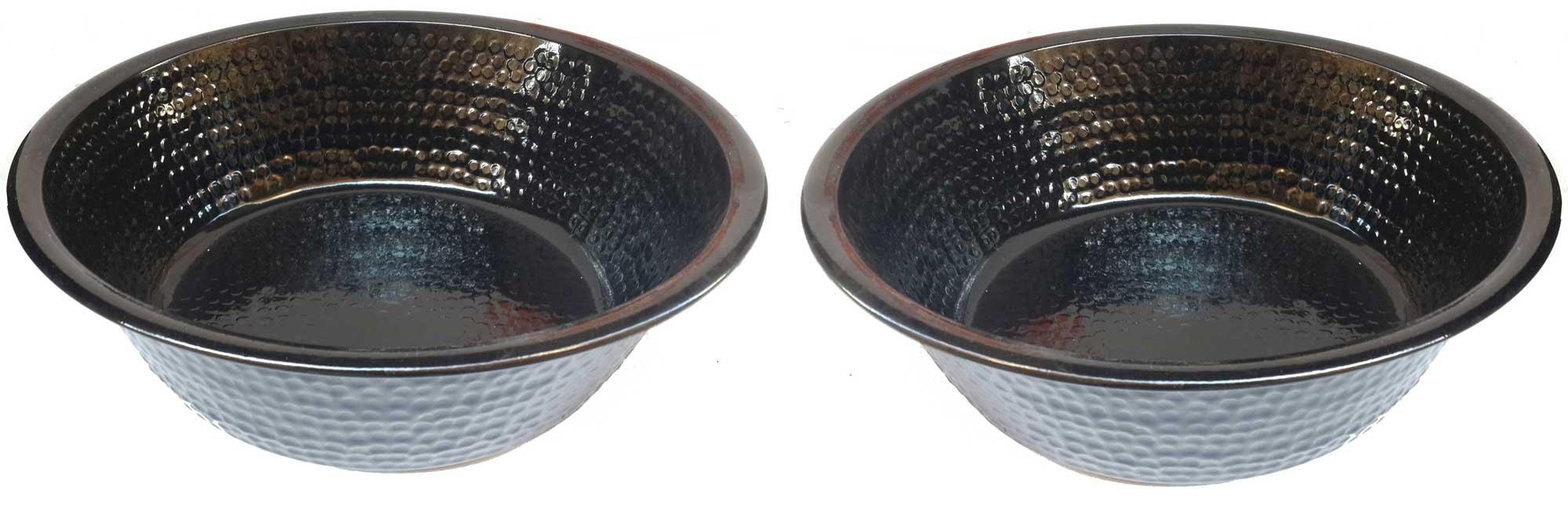 Egypt gift shops Pair Hand Made Metal Pedicure Spa Beauty Salon Foot Soak Bath Wash Massage Therapy Basins Bowls