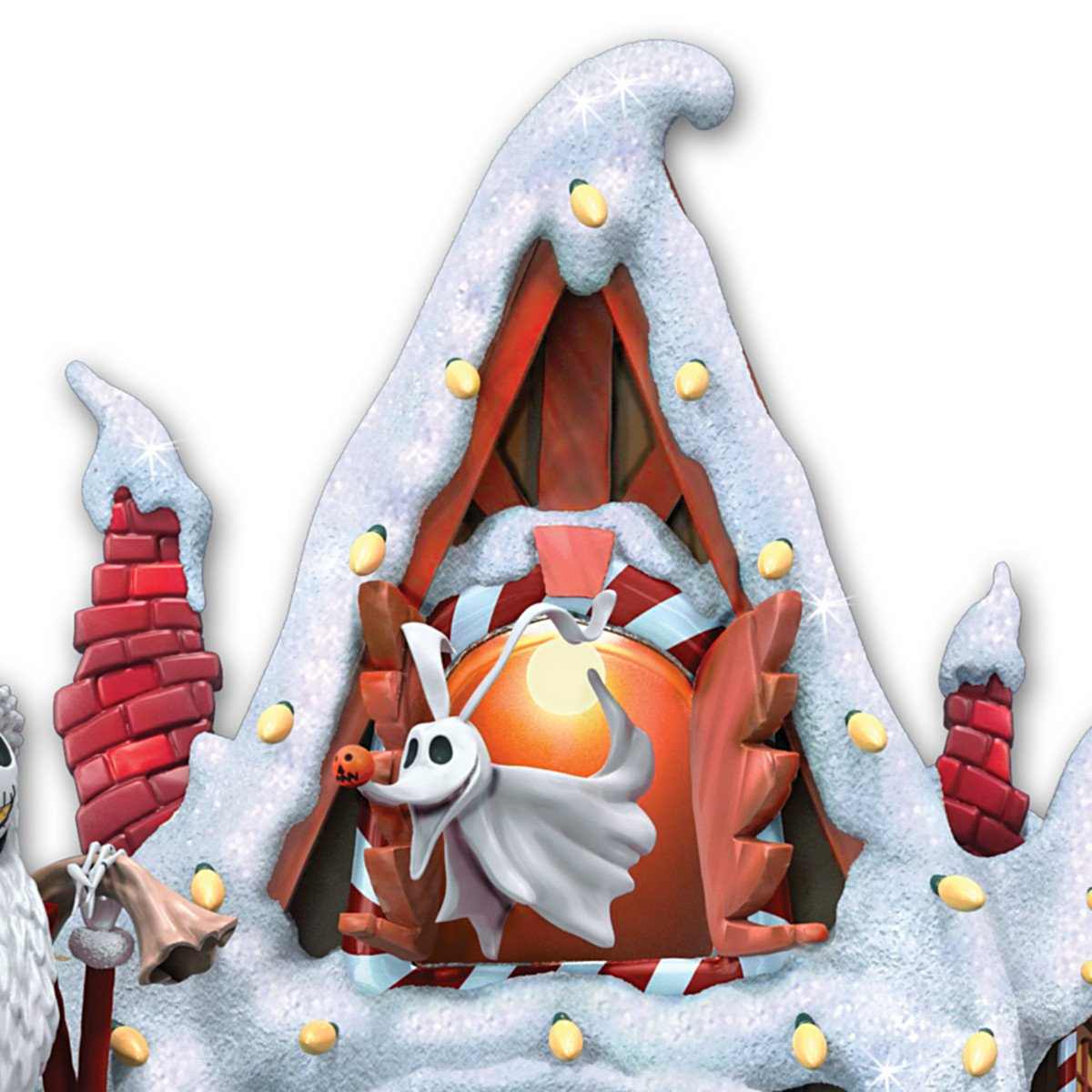 Tim Burton\'s The Nightmare Before Christmas Town Cuckoo Clock ...
