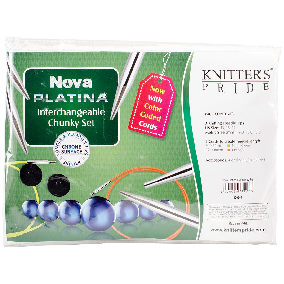 Knitter's Pride Nova Platina Chunky Interchangeable Needles Set