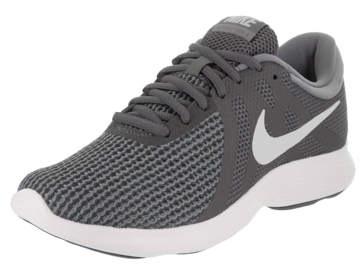 NIKE Women's Revolution 4 Wide Running Shoe B06XK9TCX2 6 B(M) US|Dark Grey Pure Platinum Cool Grey White