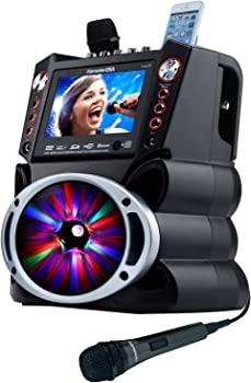Karaoke USA GF845 Complete Karaoke System With 2 Microphones