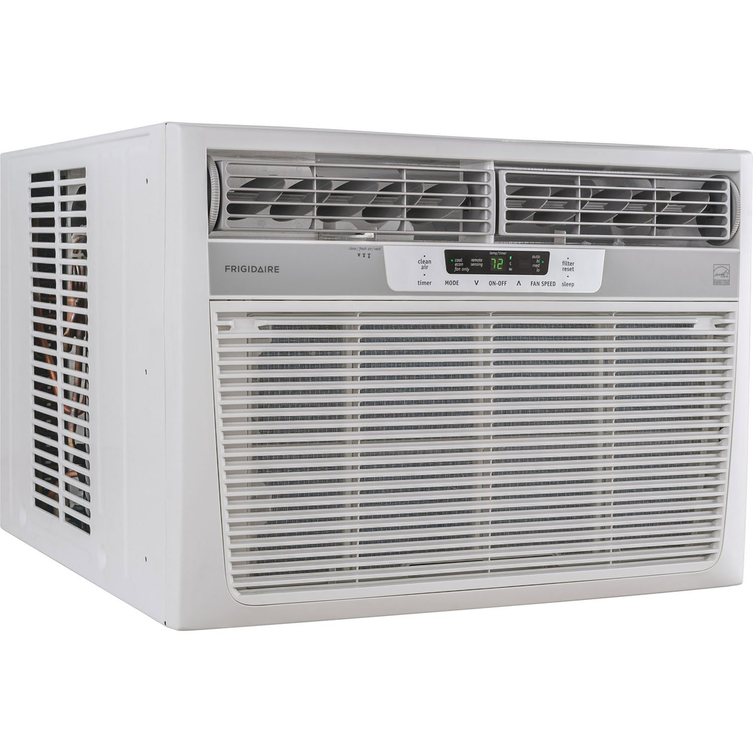 Frigidaire 18000 Btu 230v Window Mounted Median Air Conditioner Temperature Sensing And Control With Remote White Ffre18l3sr 1 Home Kitchen