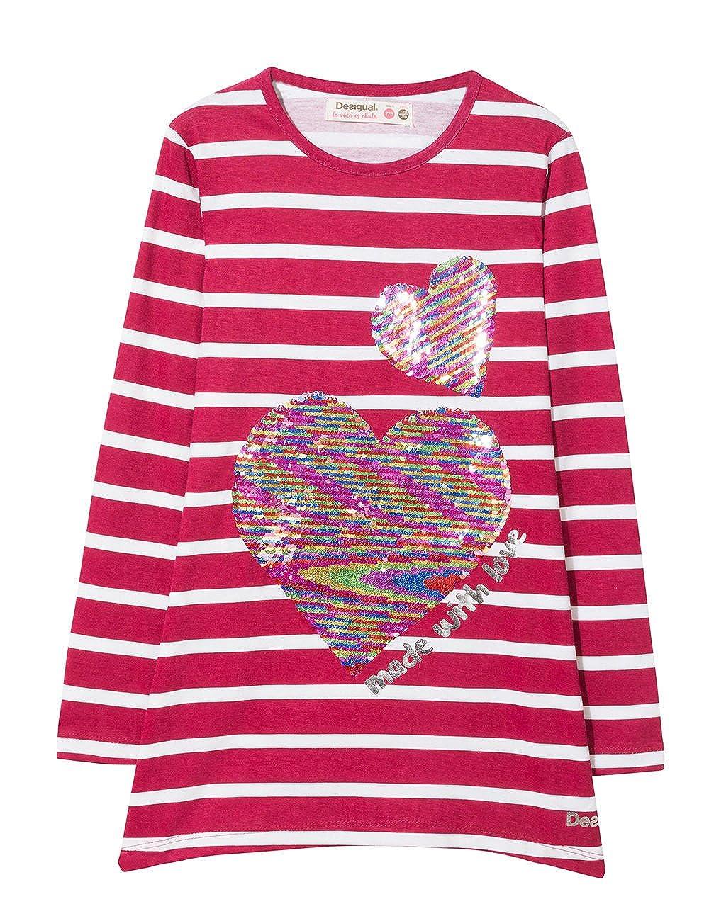 Desigual Girls Ts/_chivite T-Shirt