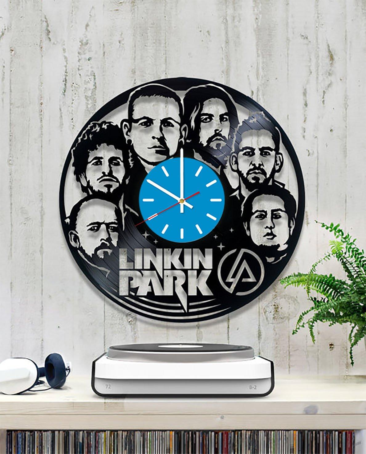 Amazon Com Linkin Park Vinyl Record Wall Clock Fan Art