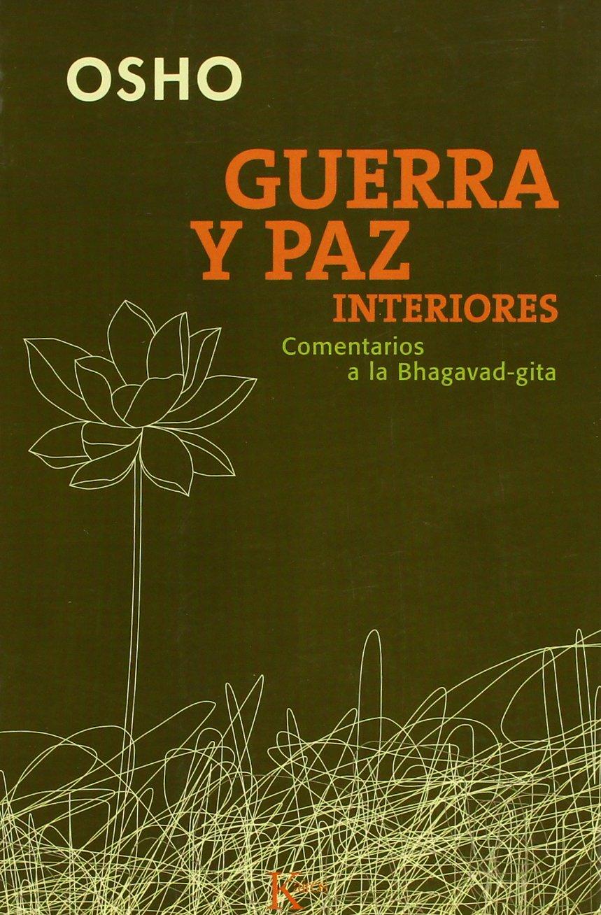 Guerra y paz interiores (Sabiduria Perenne): Amazon.es: Osho ...