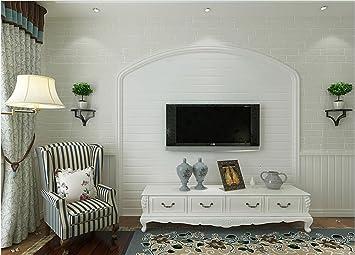 Hu0026M Wallpaper Vlies Retro Vintage Ziegel Textur 3D Relief Wasserdicht Tapete  Dekoration Schlafzimmer TV Wand Wohnzimmer