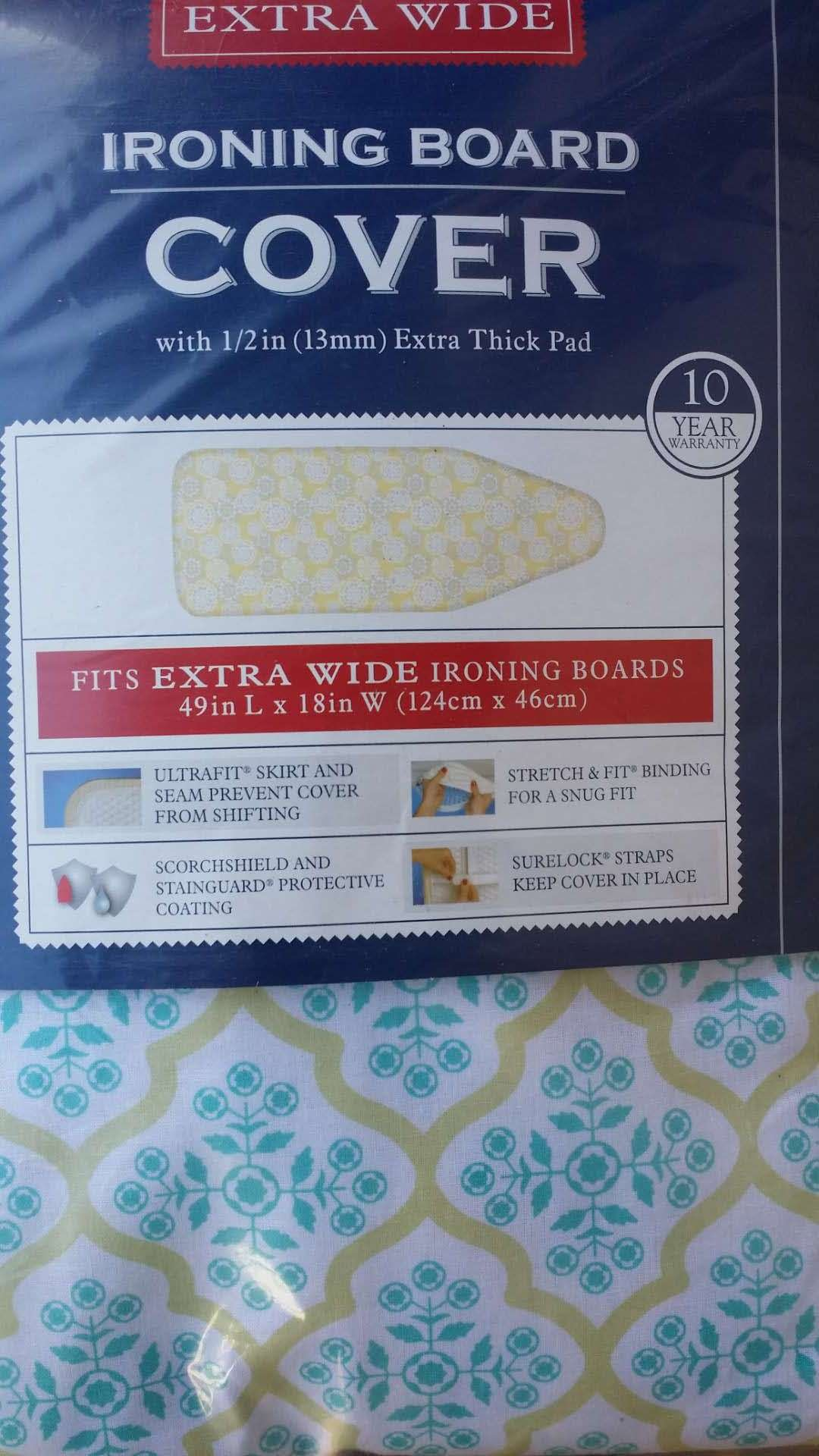J&J home fashion Extra Wide 18-49 Cover with Pad
