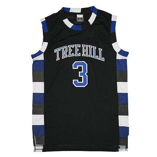 6d0f3e4c7 JiFan Athletic Scott  3 Tree Hill Ravens Black Basketball Jersey XXL
